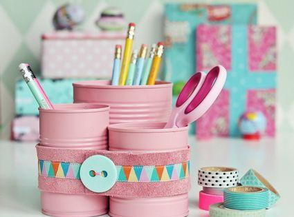 Cosas que puedes hacer con latas recicladas manualidades - Manualidades de cosas recicladas ...