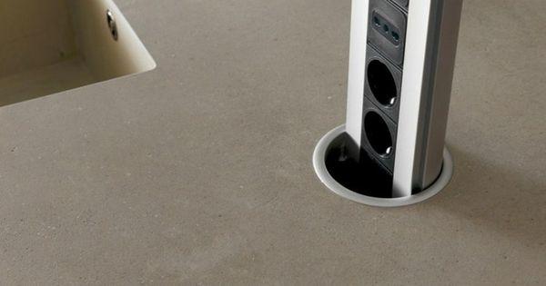 k cheninsel mit rausfahrbarem mehrfachstecker kitchen pinterest k cheninsel k che und hausbau. Black Bedroom Furniture Sets. Home Design Ideas