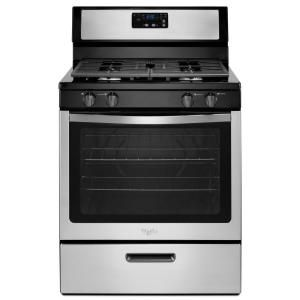 Ge 24 In 2 9 Cu Ft Gas Range With Steam Cleaning Oven In Stainless Steel Jgas640rmss Gas Range Cooking Range Gas Stove