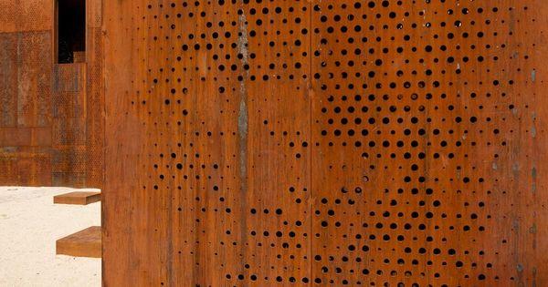 Acero corten materiales pinterest steel panels - Acero corten ...
