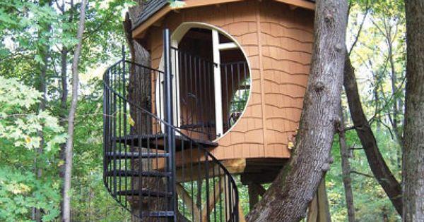 12 Modern Tree House Designs, One of a kind Tree House... I