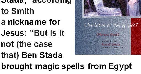 Magic spells, Egypt and Jesus on Pinterest