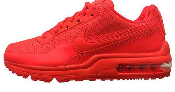 newest b2779 fb09c Nike Air Max Ltd 3 Mens 687977-666 Bright Crimson Red Running Shoes Size  11.5 ...
