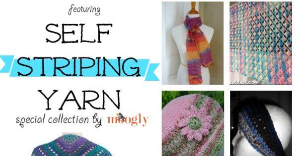 Crochet Scarf Pattern With Self Striping Yarn : Fantastic Free #Crochet Patterns using Self Striping Yarn ...