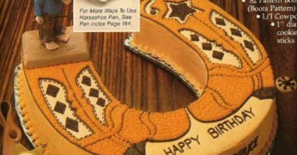 amazoncom cowboy cowgirl country western boots cake
