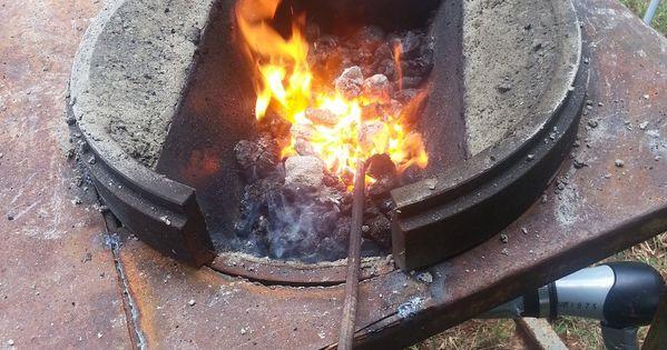How To Build A Blacksmith Fire Pot
