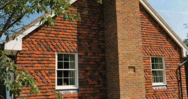 Tudor Roof Tile Adds Style And Value With Vertical Hanging Tiles Roof Architecture Metal Shingle Roof Roof Styles