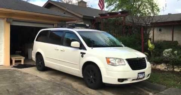2008 Chrysler Town Country Minivan Camper Youtube Town