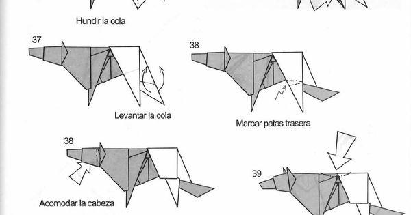 origami golden retriever instructions
