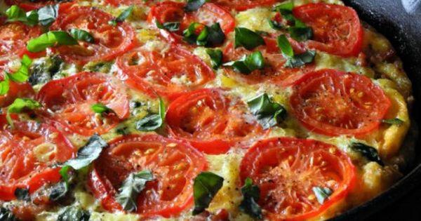 Sausage Tomato Basil Frittata (Paleo & Whole30) | Recipe ...