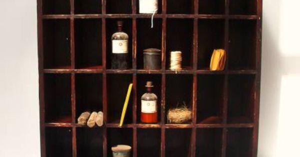 Furniture finds pinterest mail sorter cabinets and vintage