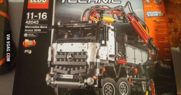 My Girlfriend Bought Me This For My Birthday Today I M 25 Lego Technic Mercedes Benz Lego Technic Lego Technic Sets