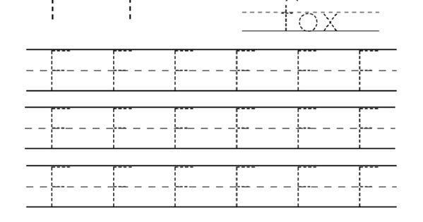 Letter F Worksheet For Preschool And Kindergarten : Activity Shelter : Alphabet and Numbers ...