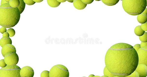 Tennis Balls Frame Green Yellow Tennis Balls And Red Heart Frame With Place For Affiliate Green Yellow Frame Tenn Tennis Balls Sports Images Tennis