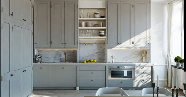 Best Like The Look Of The Marble And Mindful Gray Cabinets 400 x 300