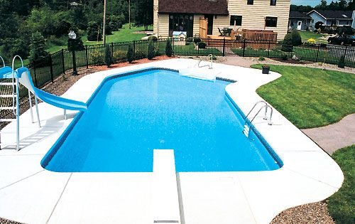 Above ground swimming pool ideas pool kits cheap for Cheap inground pools