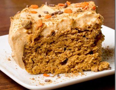 Low Fat Pumpkin Sheet Cake   Recipe   Pumpkins, Sheet cakes and Spice ...