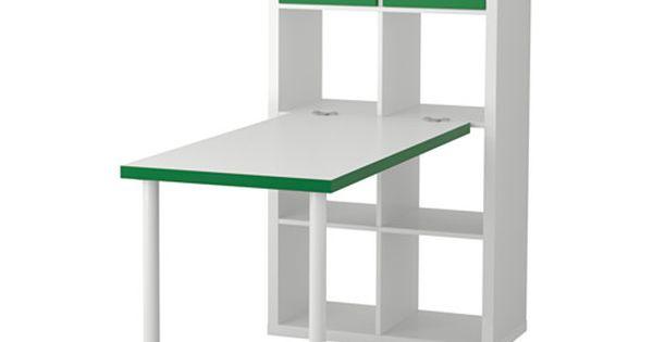kallax combinaison bureau ikea ce meuble peut servir de s parateur de pi ce car il pr sente la. Black Bedroom Furniture Sets. Home Design Ideas
