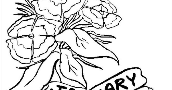 Flower Page Printable Coloring Sheets Coloring Pages 01