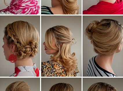 Hair tutorials from Christina of Hair Romance. Hairstyles in 30 days --