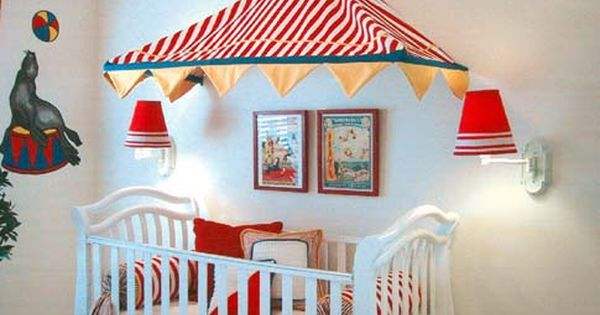 Circus Decorations | Free Pictures of circus-baby-room ...