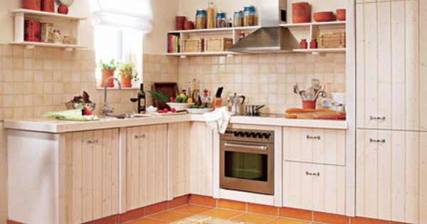 Küche Selber Bauen Ytong : Küche im Landhausstil Kitchen Pinterest ...