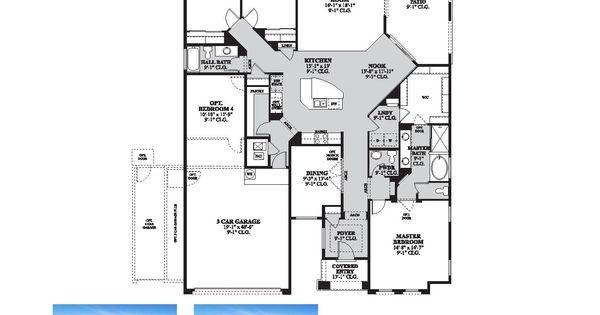 DR Horton Buxton Floor Plan