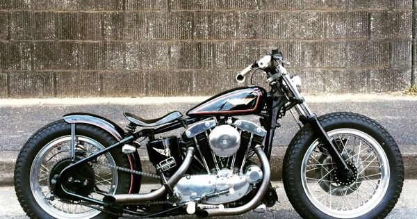 Db E B C A D A C on 1974 Ironhead Sportster Chopper
