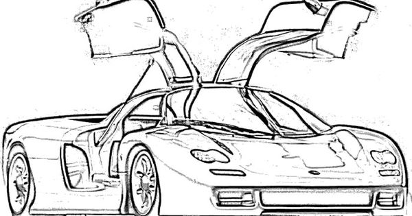 Koenigsegg Supercars Coloring Page | rosies stuff ...