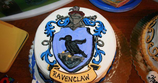 My Son S Ravenclaw Birthday Cake Ninjas For Ben