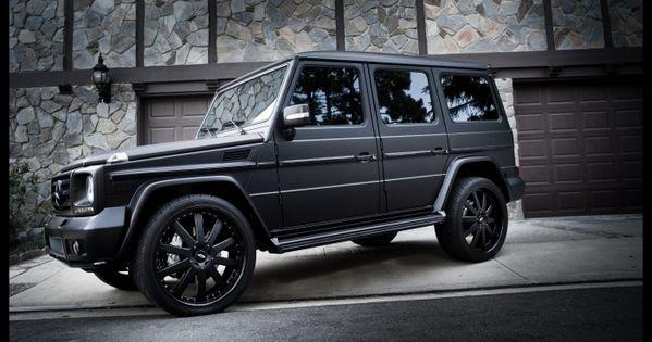 Matte Black G-Wagon