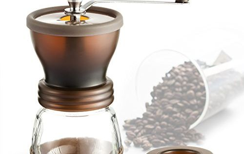 Manual Coffee Grinder Coolife Hand Coffee Crank Mill With Gift