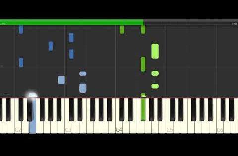 Tones And I Dance Monkey Piano Cover Midi Tutorial Sheet App