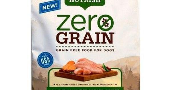 Rachael Ray Nutrish Zero Grain Natural Chicken Sweet Potato