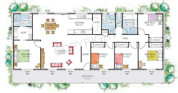 The berrima floor plan paal kit homes offer easy to for Owner builder house plans