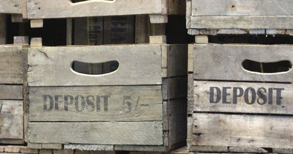 6 PACK OF VINTAGE FRENCH WOODEN FARM APPLE FRUIT CRATE BUSHELL BOX ANTIQUE