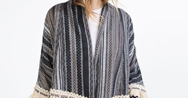 ... FOLK de Zara  SPRING/SUMMER 2016  Pinterest  Kimonos, Folk und Zara