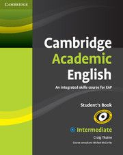 Cambridge Academic English B1 Intermediate Student S Book Dvd And Audio Available Teacher Teaching College Words Paraphrasing Activitie Eap