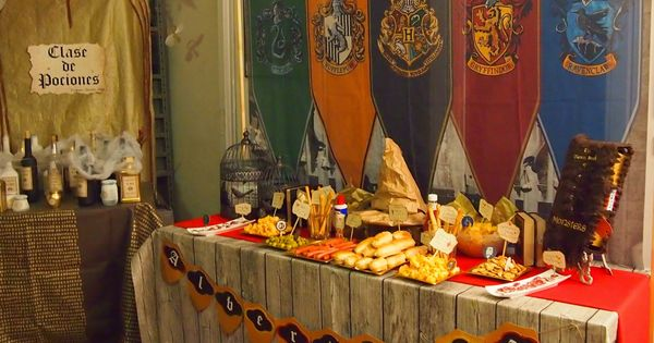 Gran comedor harry potter fiesta tem tica alicante for Comedor harry potter