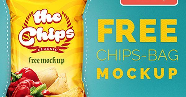 Download Consulta Este Proyecto Behance Chips Bag Free Mock Up Chips Mockup Free Mockup
