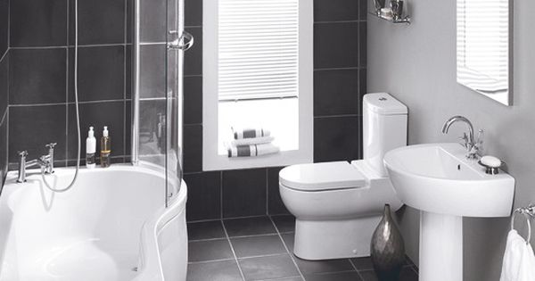Curved Design Avalon Shower Bath From Wickes Save Yourself The Hassle Of Sourcing A Basin And