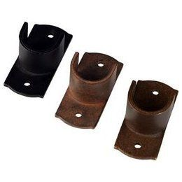 Inside Mount Curtain Rod Bracket For 1 Inch Metal Pole Basicq