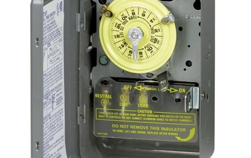 Robot Check Hot Water Heater Lights Timer Water Heater