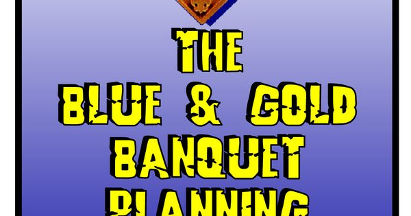 cub scout blue and gold program template - blue and gold program template blue and gold banquet