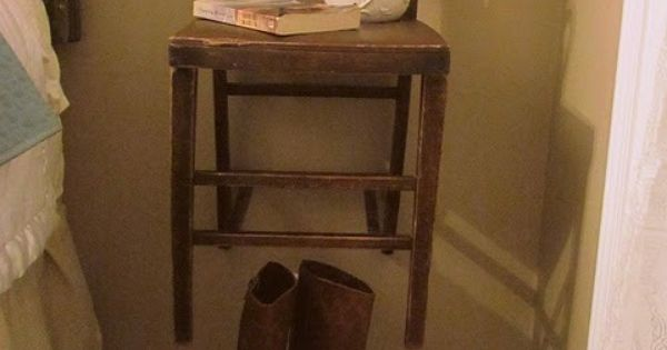Cute night stand idea for the home pinterest night for Cute nightstand ideas