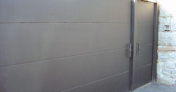 Modelo de puerta de hierro sencilla pesquisa google for Ver modelos de portones de hierro