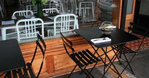 Bistro furniture at loop restaurant in kingsland auckland