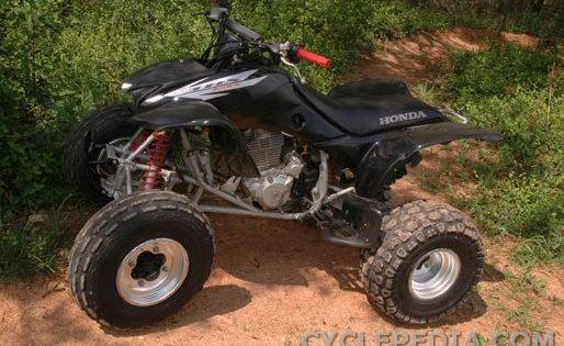 The Honda Trx400ex Atv 4 Wheelers Carrier Wheel 4 Wheeler