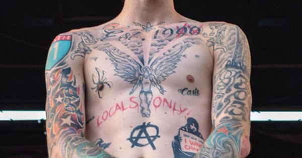 Machine Gun Kelly Quote Tattoo | Recent Photos The Commons Getty ...