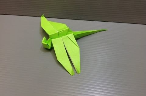 How To Make A Traditional Origami Dragonfly